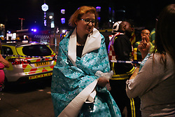 Anna Branthwaite, Camden, London<br /> 19/04/2014<br /> Sara Ventor, a student from East London, escaped the fire whilst attending the gym inside the Stables at Camden Market. <br /> Photo: Anna Branthwaite/LNP