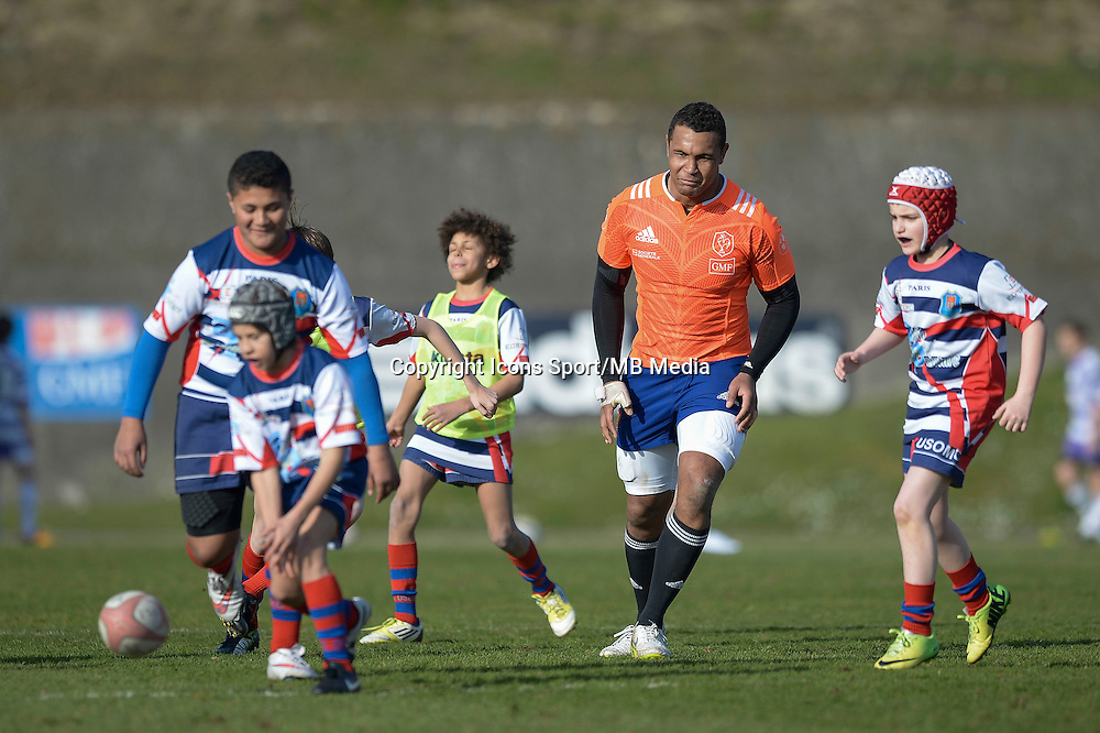 Thierry Dusautoir - 11.03.2015 - Rugby -Entrainement France -Marcoussis<br />