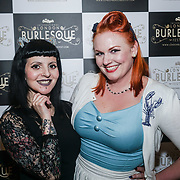Anais Lune,Luna Sugarcane attends the London Burlesque Festival - The Crown Jewels at Conway Hall on 19th May 2017, UK. by See Li