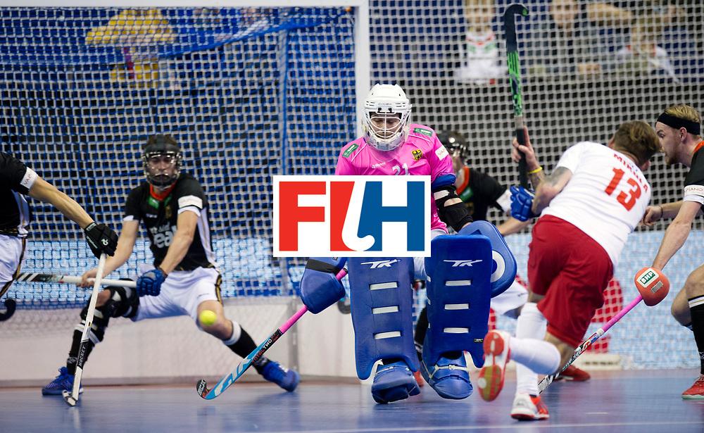 BERLIN - Indoor Hockey World Cup<br /> Men: Poland - Germany<br /> foto: Tobias Walter.<br /> WORLDSPORTPICS COPYRIGHT FRANK UIJLENBROEK