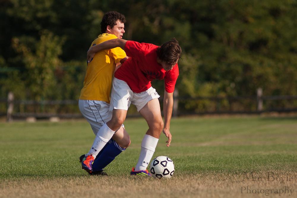 2012 Gloucester County Summer Soccer League: Washington Township High School B. vs. Woodstown High School at New Street Park in Glassboro, NJ on Thursday July 26, 2012. (photo / Mat Boyle)