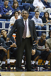 November 16, 2010; Berkeley, CA, USA;  Cal State Northridge Matadors head coach Bobby Braswell on the sidelines during the first half against the California Golden Bears at Haas Pavilion.