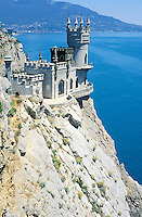 Swallow's nest - Ukrainian riviera on the black sea - Crimea - Ukraine