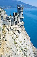 Swallow's nest - Ukrainian riviera on the black sea - Crimea - Ukraine