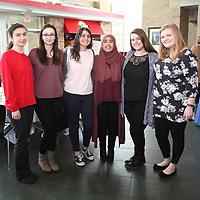 Ziyoda Abdurakhmanova, Carley Johnson, Yasmein Mousa, Hira Hamirani, Marissa Polumbus, Veronica Steibel