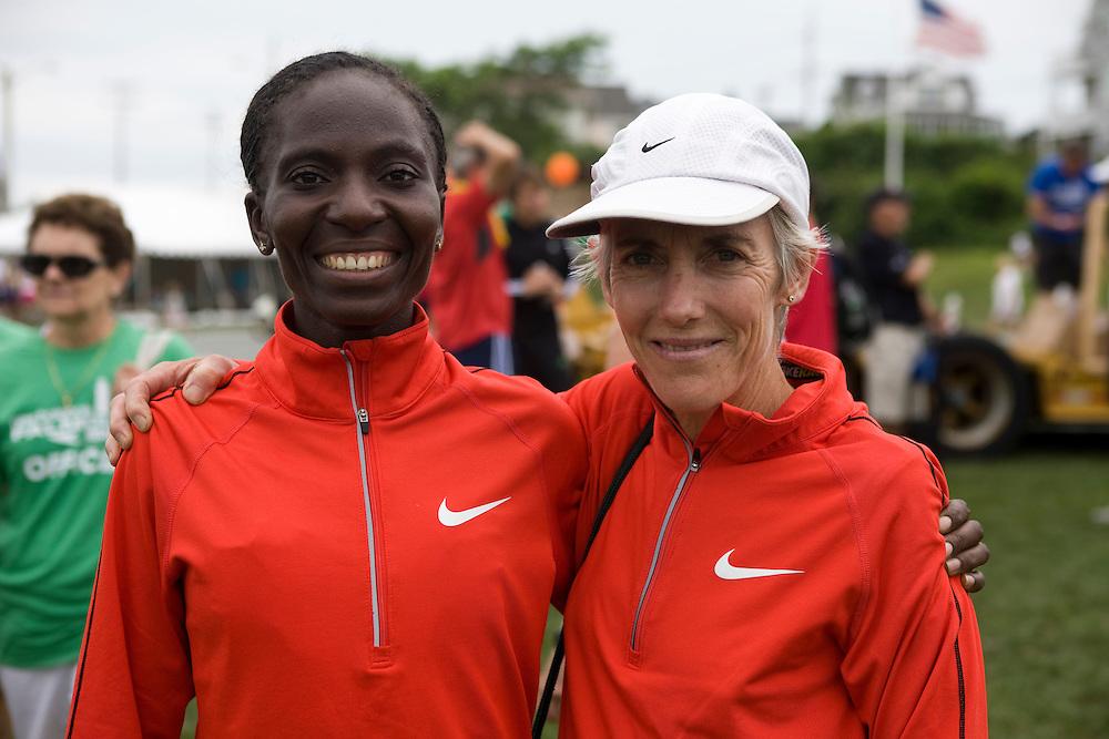 Joan Samuelson, Catherine Ndereba