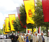 Flat Horse Racing -2017 Qatar Goodwood Festival [Glorious Goodwood]  - Day 1. Goodwood Fashion Day 1. 1st August 2017 Pic Colorsport/Steve Davies