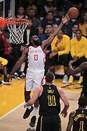 LA Lakers v Houston Rockets - 10 April 2018