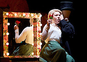 Tipping The Velvet <br /> by Sarah Waters <br /> adopted by Laura Wade <br /> at the Lyric Hammersmith, London, Great Britain <br /> press photocall <br /> 25th September 2015 <br /> <br /> Sally Messham as Nancy <br /> <br /> <br /> Photograph by Elliott Franks <br /> Image licensed to Elliott Franks Photography Services