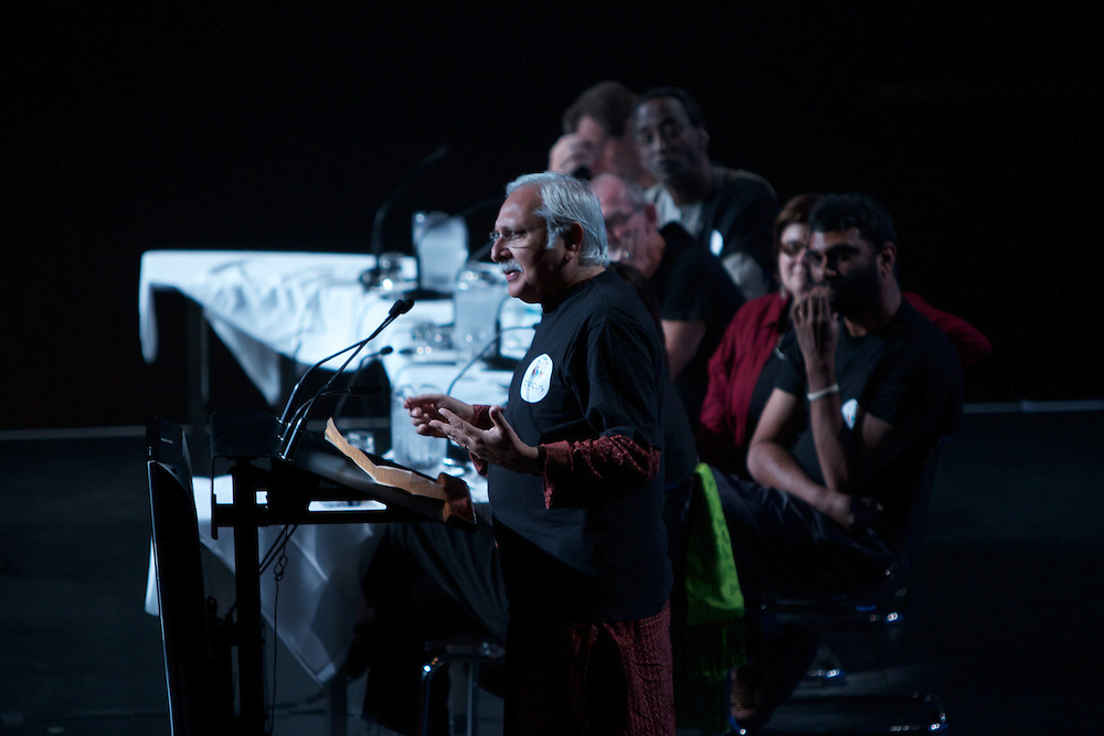 Members of the Board past and present speak early during Day 1 of the 10th Annual CIVICUS Assembly in Montreal, Quebec, Canada on September 10th, 2011.