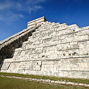 El Castillo (also known as Temple of Kuklcan) at the ancient Mayan ruins at Chichen Itza, Yucatan, Mexico 081216092710_1917x.tif