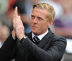 Swansea City Manager, Garry Monk - Photo mandatory by-line: Alex James/JMP - Mobile: 07966 386802 20/09/2014 - SPORT - FOOTBALL - Swansea - Liberty Stadium - Swansea City v Southampton  - Barclays Premier League