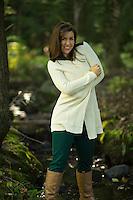 Mary S portrait session.  © 2013 Karen Bobotas Photographer