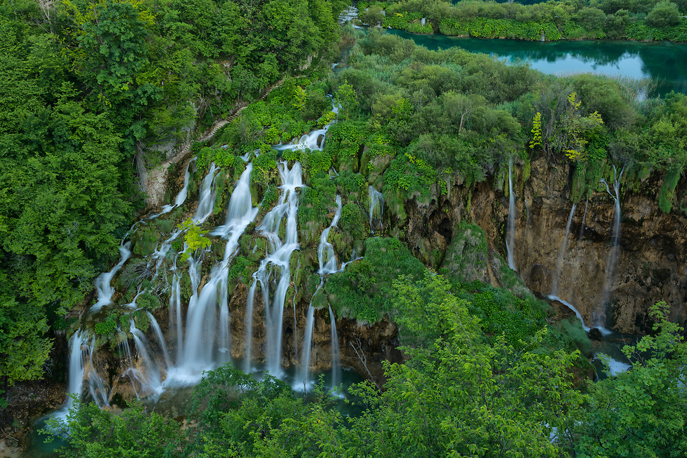 Europe, Balkan, Croatia, Plitvice Lakes National Park