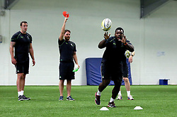 Derrick Appiah of Worcester Warriors during pre-season training - Mandatory by-line: Robbie Stephenson/JMP - 07/06/2016 - RUGBY - Worcester Warriors - Pre-season training session
