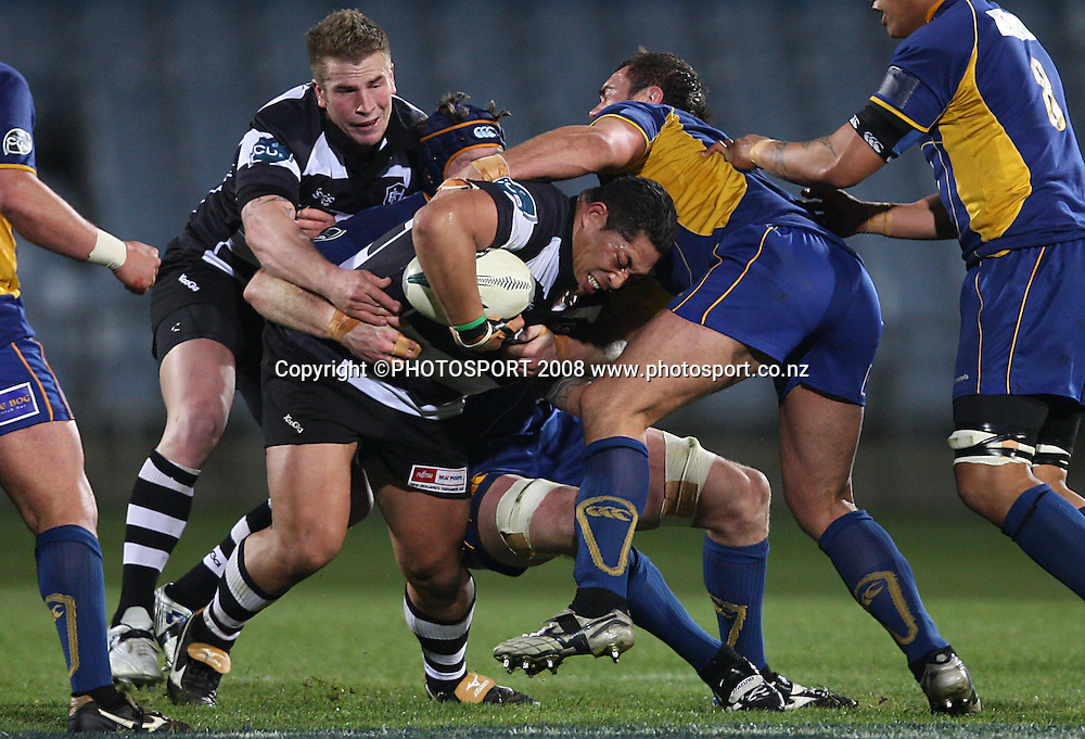 George Naoupu.<br /> Air NZ Cup, Otago v Hawkes Bay, Carisbrook, Dunedin, Friday 29 August 2008. Photo: Rob Jefferies/PHOTOSPORT