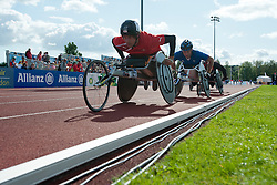 BLICHFELDT Ebbe, CASOLI Julien, 2014 IPC European Athletics Championships, Swansea, Wales, United Kingdom