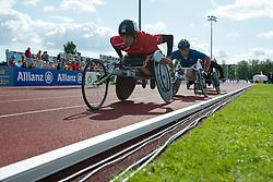 BLICHFELDT Ebbe, CASOLI Julien, 2014 IPC European Athletics Championships, Swansea, Wales, United Kingdom