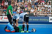 England v Argentina - Hockey World League Semi Final, Lee Valley Hockey and Tennis Centre, London, United Kingdom on 18 June 2017. Photo: Simon Parker