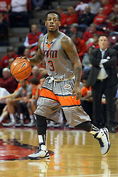17 December 2014: Alex Anderson during an NCAA Men's Basketball game between the Skyhawks of University of Tennessee - Martin and the Redbirds of Illinois State at Redbird Arena in Normal Illinois