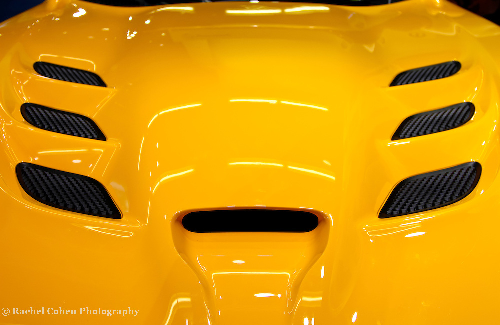 &quot;2013 SRT Viper Hood&quot;<br /> <br /> A beautiful, and cool image verging on abstract! The awesome 2013 SRT Viper hood!!<br /> <br /> Cars and their Details by Rachel Cohen