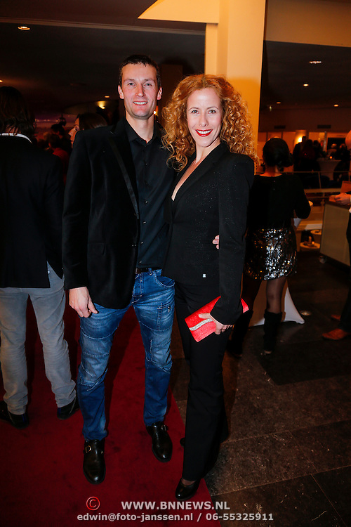 """NLD/Tilburg/20130114 - Premiere Ruth Jaccot """" A Lady on Stage"""", Maaike Boerdam en partner Michael Strobel"""
