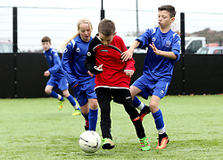 Match action during The BCCT EFL Kids Cup - Mandatory by-line: Robbie Stephenson/JMP - 23/11/2016 - FOOTBALL - South Bristol Sports Centre - Bristol, England - BCCT EFL Kids Cup