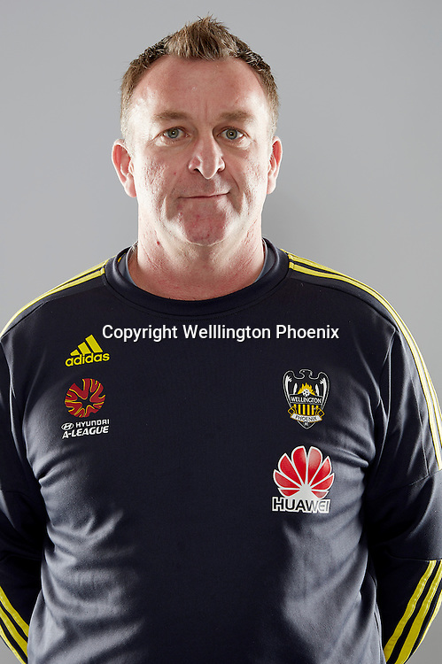 Shaun Gill.<br /> Headshots of the Wellington Phoenix Football team for the Hyundai A-League 2016-17 season.