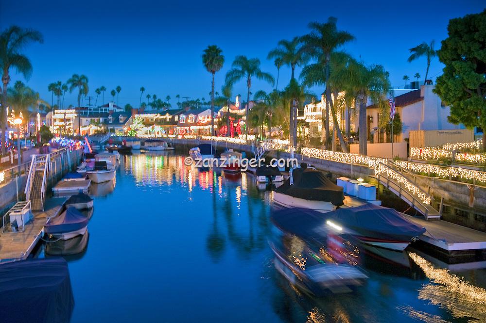 long beach ca boats houses lights sailboats yachts holiday