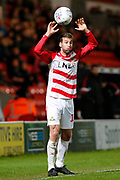 Matthew Blair of Doncaster Rovers during the EFL Sky Bet League 1 match between Doncaster Rovers and Bristol Rovers at the Keepmoat Stadium, Doncaster, England on 26 March 2019.