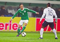 FOOTBALL - FRIENDLY GAME 2011/2012 - GERMANY v FRANCE  - 29/02/2012 - PHOTO DPPI - MESUT OZIL (GER) / FLORENT MALOUDA (FRA)