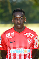 Faitout Maoussa of Nancy poses for a portrait during the Nancy squad photo call for the 2016-2017 Ligue 1 season on August 25, 2016 in Nancy, France<br /> Photo : Fred Marvaux / Icon Sport