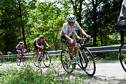 Leah Thomas (USA) on the longest climb of the day during Stage 8 of 2019 Giro Rosa Iccrea, a 133.3 km road race from Vittorio Veneto to Maniago, Italy on July 12, 2019. Photo by Sean Robinson/velofocus.com