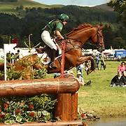Patricia Ryan (IRL) and Ballylynch at the 2007 Blair Horse Trials held in Blair Atholl, Scotland.