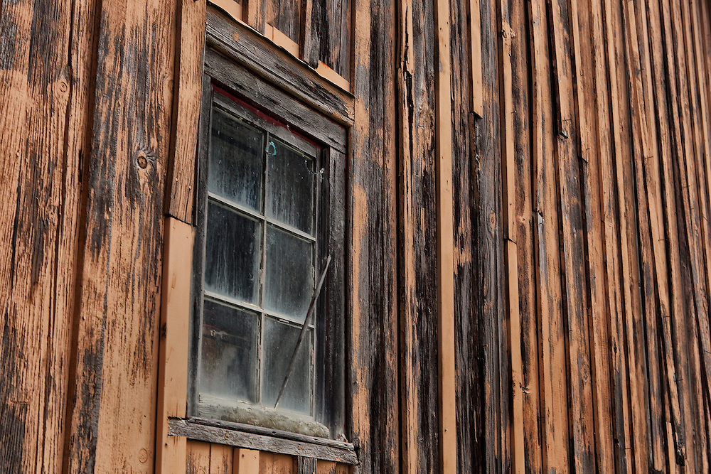 Boathouse Pane Glass Window - Florence Oregon