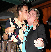 08.JULY.2013. ESSEX<br /> <br /> DAVID VAN DAY AND BOBBY NORRIS FROM TOWIE SEEN OUT HAVING DINNER AT SMITHS RESTAURANT IN ONGAR ESSEX. DAVID WAS LOOKING WORSE FOR WEAR AS HE LEFT THE RESTAURANT WITH BOBBY NORRIS AND WIFE SUE MOXLEY<br /> <br /> BYLINE: EDBIMAGEARCHIVE.CO.UK<br /> <br /> *THIS IMAGE IS STRICTLY FOR UK NEWSPAPERS AND MAGAZINES ONLY*<br /> *FOR WORLD WIDE SALES AND WEB USE PLEASE CONTACT EDBIMAGEARCHIVE - 0208 954 5968*