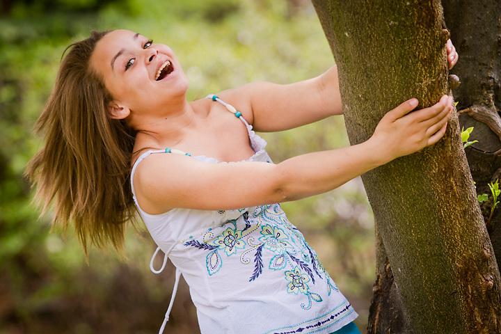 Twelve year old aspiring model, Lauryn Spells, Anchorage