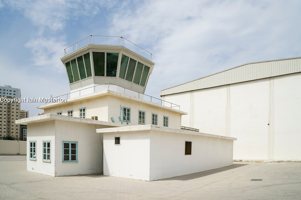 Al Mahatta Museum, the preserved former former Sharjah airport in Sharjah United Arab Emirates