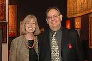Kurt and Nancy Jeffries<br /> The New-York Histoircal Society.Opening of:Woven Splendor from Timbuktu to Tibet: Exotic Rugs and Textiles from New York Collectors