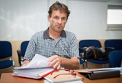 Dusan Gorisek during meeting of Executive Committee of Ski Association of Slovenia (SZS) on June 9, 2014 in SZS, Ljubljana, Slovenia. Photo by Vid Ponikvar / Sportida