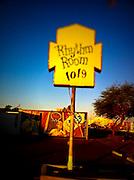21 NOVEMBER 2011 - PHOENIX, AZ: The Rhythm Room on Indian School Rd is the best known venue for blues music in Phoenix, AZ.  PHOTO BY JACK KURTZ