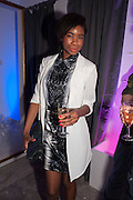 TOLULA AYEDEMI, Maison Triumph launch to celebrate the beginning of London fashion week. Monmouth St. 14 February 2013.