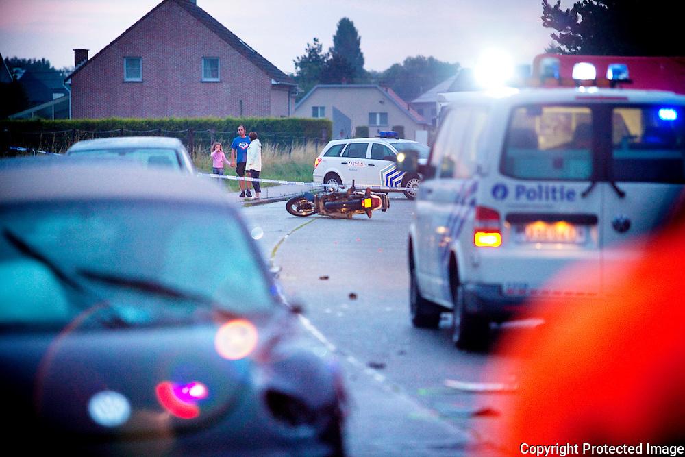 356013-Verkeersongeval met motorijder-dodelijke ongeval duffelsesteenweg Sint-Katelijne-Waver