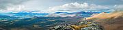 Panorama near Haines Junction, Yukon.