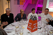 SIR JAMES DYSON, WAYNE HEMINGWAY, PHIL NEEDHAM AND NICK TROKE, Brit Insurance Design Awards. Design Museum. London. 18 March 2008.  *** Local Caption *** -DO NOT ARCHIVE-© Copyright Photograph by Dafydd Jones. 248 Clapham Rd. London SW9 0PZ. Tel 0207 820 0771. www.dafjones.com.