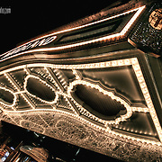 The historic marquee of the Midland Theatre by AMC, a fantastic old theatre in downtown KCMO now managed by AMC Theatres, which also holds its international headquarters downtown.