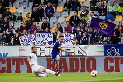 Spectators during football match between NK Maribor and NK Aluminij in 12th Round of Prva liga Telekom Slovenije 2018/19, on October 6th, 2018 in Mestni stadion Fazanerija, Murska Sobota, Slovenia. . Photo by Grega Valancic / Sportida