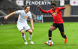 Tosin Kehinde of Manchester United in action - Mandatory by-line: Craig Thomas/Replay images - 18/03/2018 - FOOTBALL - Liberty Stadium - Swansea, England - Swansea City U23 v Manchester United U23 - Premier League 2 - Divison 1