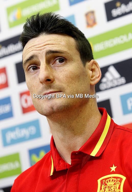 Uefa Euro FRANCE 2016 - <br /> Spain National Team - <br /> Aritz Aduriz