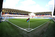 Empty Turf Moor Stadium before the Sky Bet Championship match between Burnley and Cardiff City at Turf Moor, Burnley, England on 5 April 2016. Photo by Simon Brady.